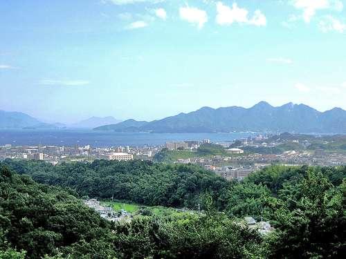 宮島SAから見える景色