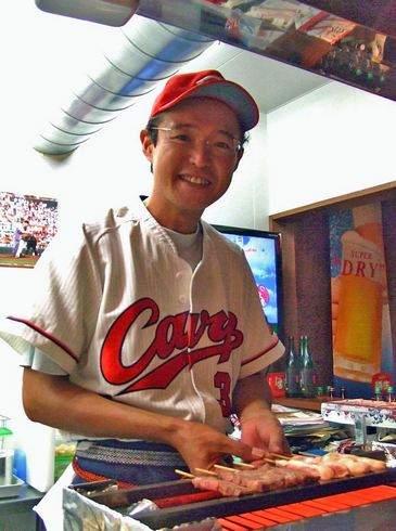 僕らのカープ、店主の松尾さん