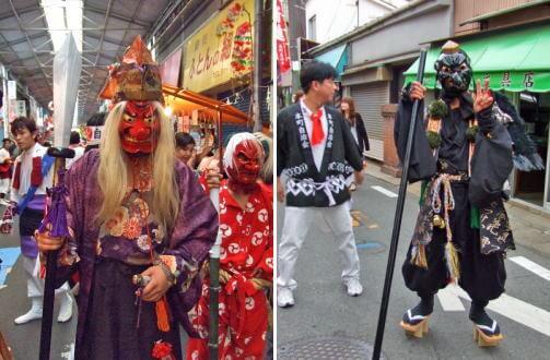 呉市・吉浦かに祭り