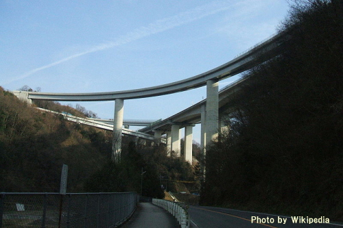 中国横断自動車道 尾道ジャンクション