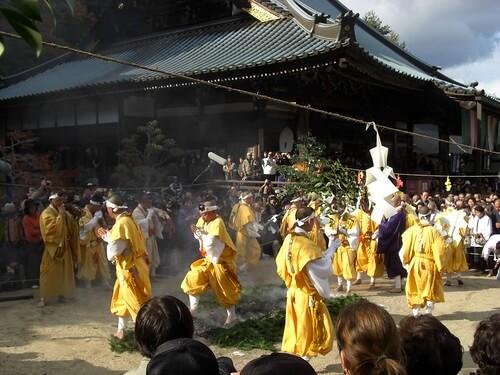 宮島 大聖院で 火渡り式15