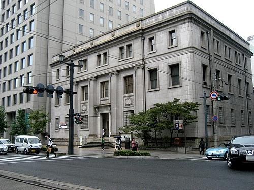 旧日本銀行 広島支店、屋内の見学も可能!モダンなつくりが美しい