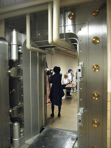 旧日本銀行広島支店 地下金庫