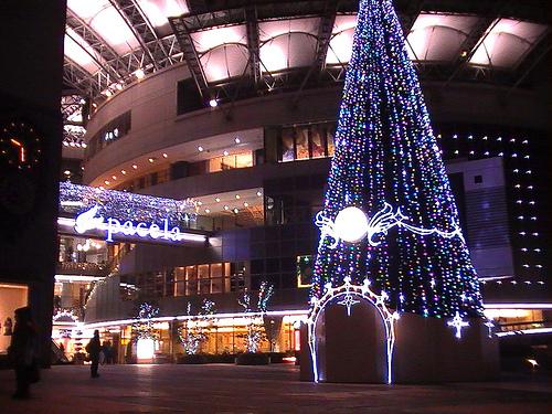 広島市 パセーラのイルミネーション