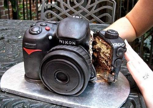 ニコン カメラケーキ 画像3