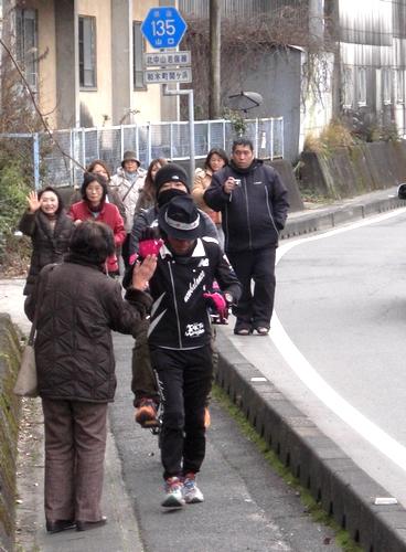 間寛平 アースマラソン 広島 画像4