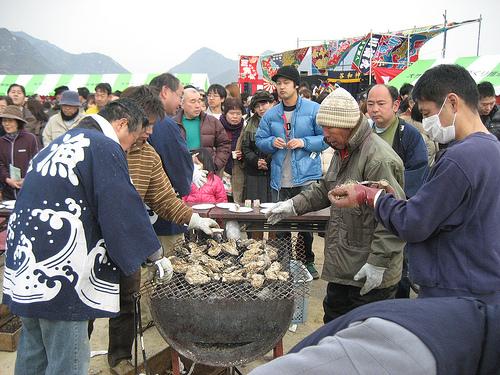 おおたけカキ水産まつり 皮切りに、広島 牡蠣祭りシーズンスタート!