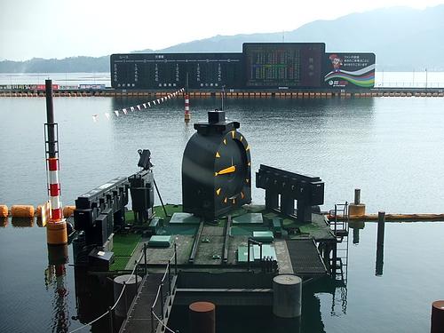 ボートレース宮島にて 食べん祭はつかいち 2011