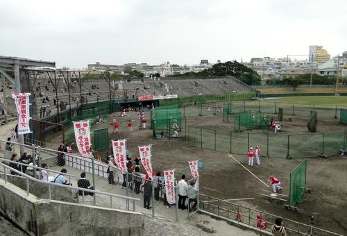 広島カープ 2011 沖縄キャンプ地、沖縄市野球場