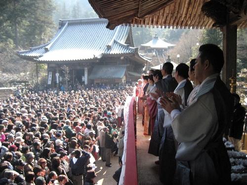 宮島 大聖院 節分祭、豆まきメンバー2