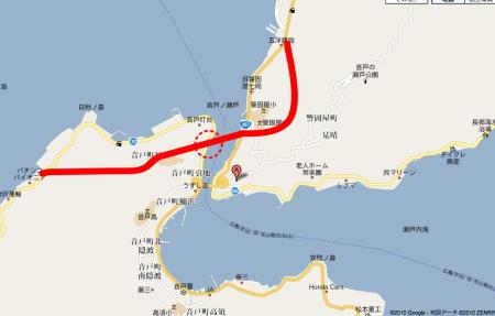 第2音戸大橋 地図
