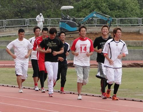 広島カープ 2011 沖縄キャンプ