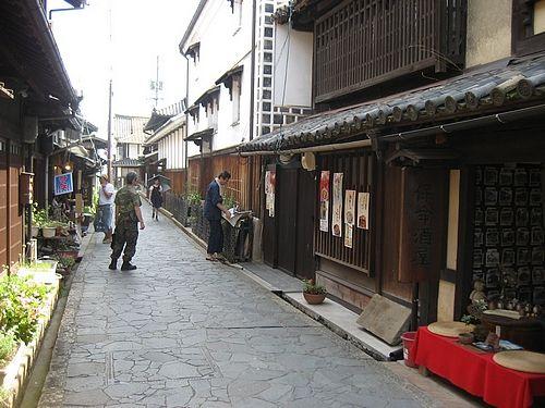 江戸時代の風景が残る、鞆の浦