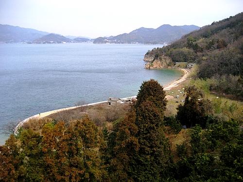 鹿島大橋 から見た景色