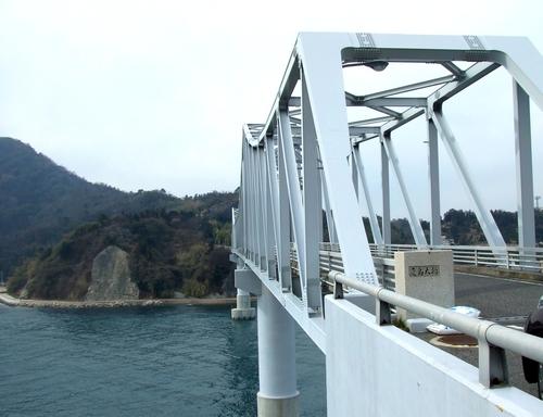 鹿島大橋 横からみた様子