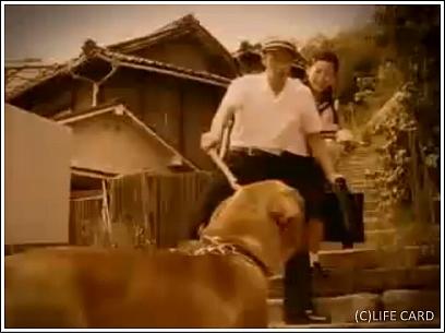 ライフカードCM マドンナ編 オダギリジョーと桜井幸子 画像2