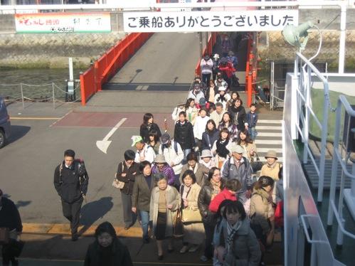 宮島 ウォーキング大会5