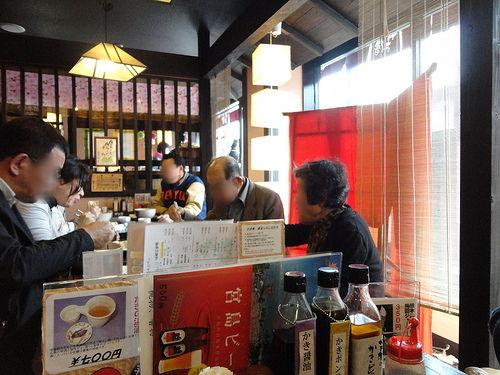 かき庵 ラー油 蕎麦屋の画像3