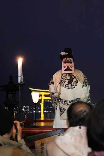 宮島 厳島神社の桃花祭11