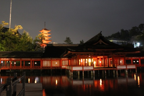 宮島 厳島神社の桃花祭21