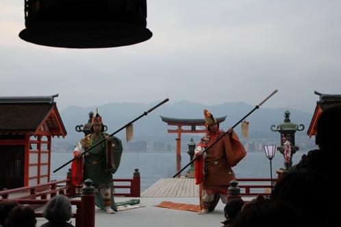 宮島 厳島神社の桃花祭7