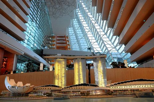 smap ソフトバンクCM シンガポールホテル マリーナベイサンズ