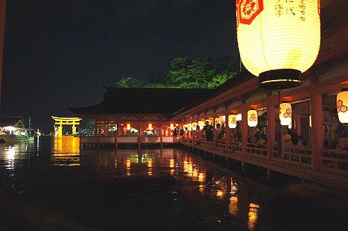 宮島 厳島神社で管絃祭 画像14