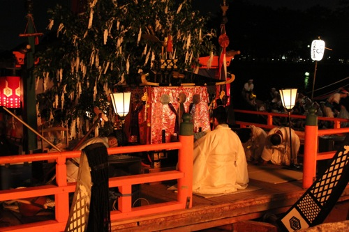 宮島 厳島神社で管絃祭 画像9