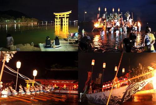 宮島 厳島神社で管絃祭 2011