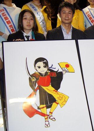 ひろしま清盛、大河ドラマ 平清盛 PRキャラクターを正式発表