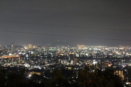 広島の 夜デートにおすすめ!古田台の夜景をドライブコースに