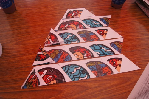 マンホール 折り紙1