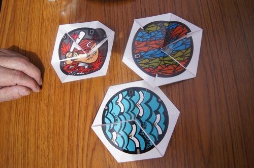 マンホール折り紙 2