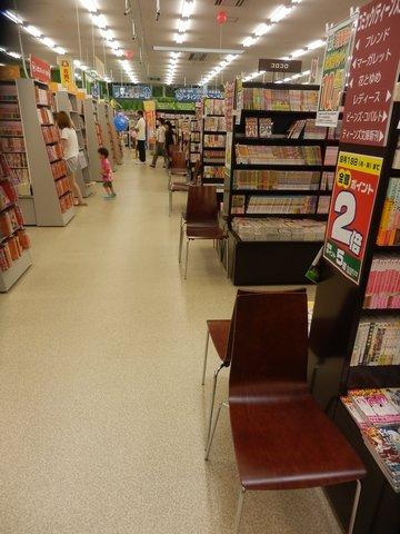 フタバ図書 GIGA五日市店 店内の様子4