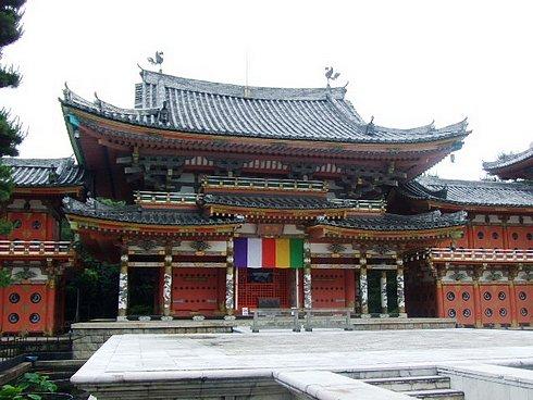 耕三寺 平等院鳳凰堂を模した本堂