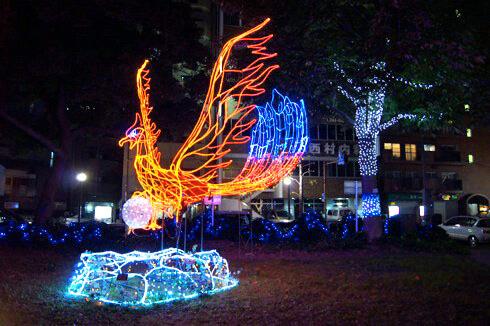 広島 平和大通り ドリミネーション2011画像 2
