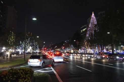 広島 平和大通り ドリミネーション2011画像 1