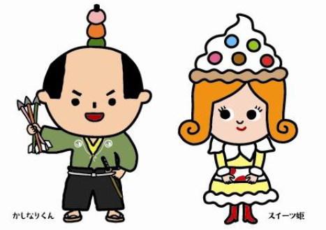 ひろしま菓子博 2013、マスコットキャラクターの名前が決定