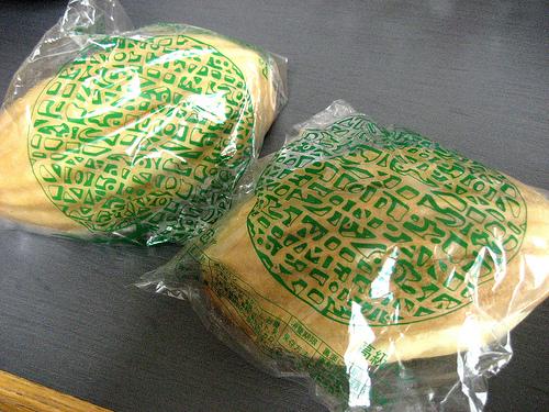 呉のメロンパン はズッシリ重い!