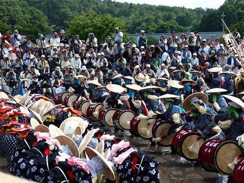 壬生の花田植、広島県で初のユネスコ無形文化遺産へ