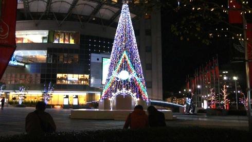 パセーラツリー、2011年も点灯!広島の街が次々と
