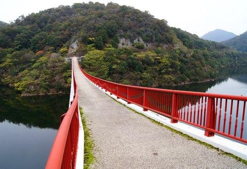 夢吊り橋、広島県世羅にあるギネス橋を渡ってみた