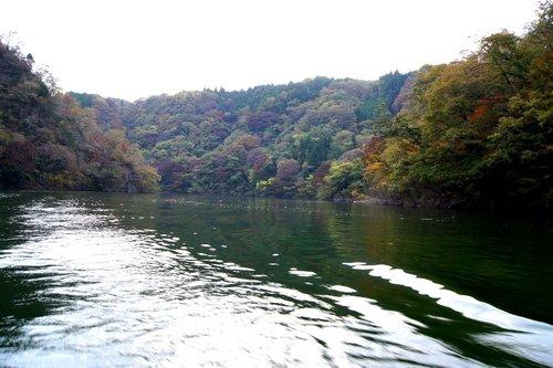 帝釈峡 遊覧船からの景色 画像4