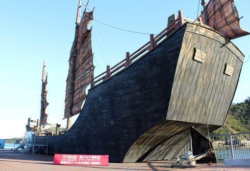 平清盛 ロケ地 広島で、撮影に使われた海賊船やパネル展「海のみち展」