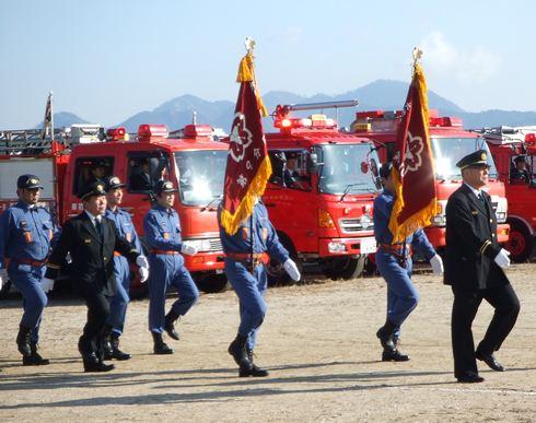広島県の消防出初式 一覧、各地で1月8日に実施へ
