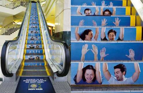 海外の面白広告 エスカレーター版