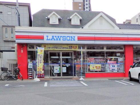 ローソン東荒神町店 が真っ赤なカープローソンに