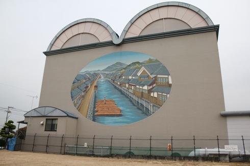 福山市松永の木材港 画像 1