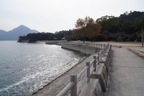 大久野島の風景 海辺の画像3