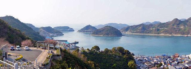 大崎下島 歴史の見える丘公園の画像